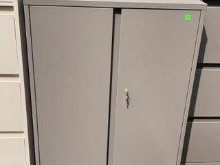 2 Door Metal Cabinet 30x23x40