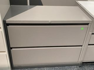 2 Drawer Lateral File Cabinet 36x18x28