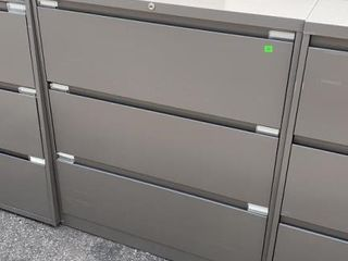3 Drawer Lateral File Cabinet 36x18x41
