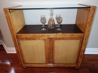 Burlington House Furniture Sideboard On Casters