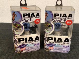 (2) PIAA Powersport Bulbs