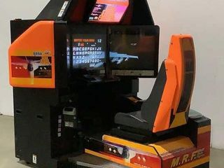 SEGA Strike Fighter Arcade Game