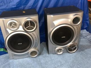 Pair of RCA speakers owner says good