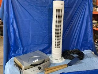 Heater and Hamilton Beach Grill - condition