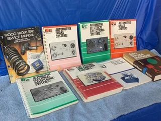 A number of Automotive Repair Manuals