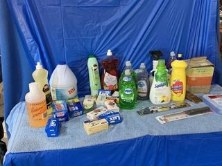 Qty of cleaning supplies