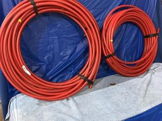 Two rolls of 1/2 in pex hose