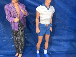 1968 Ken Mattel doll made in Taiwan and a 1966