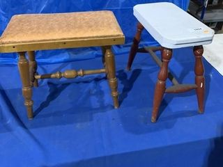 Pair of small stools
