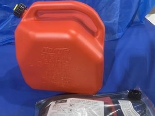Never used flow and go combo gas jug