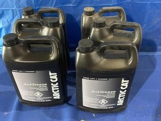 Six unopened jugs of Arctic Cat premixed