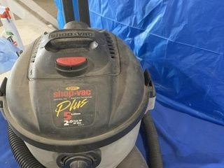 2 hp 5 gallon wet dry Shop Vac - works