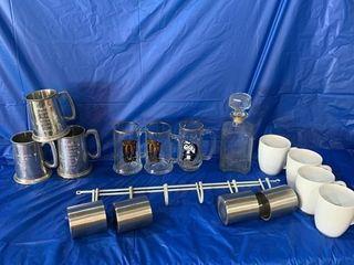 Quantity of mugs