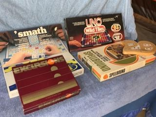 Quantity of board games