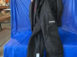 Ladies two piece snowsuit size 8 brand is FXR