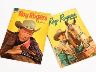 LOT OF 2 DELL 1948 & 50 ROY ROGERS 10 CENT COMICS