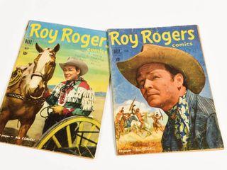 LOT OF 2 DELL 1948 ROY ROGERS 10 CENT COMICS