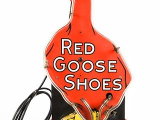 RED GOOSE SHOES NEON SIGN