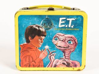 1982 E.T. THE EXTRA-TERRESTRIAL LUNCH BOX/THERMOS