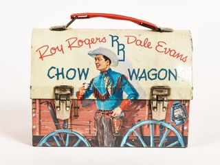 ROY ROGERS DALE EVANS SHOW WAGON LUNCH BOX