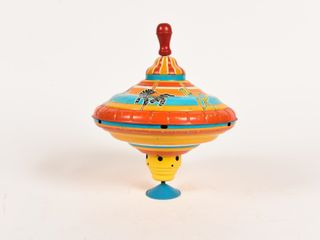 VINTAGE CHILD'S SPINNING TOP