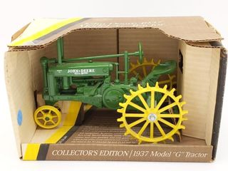 Ertl John Deere 1937 Model G Die Cast Tractor in