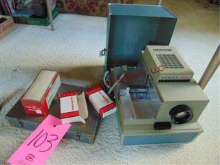 Vintage Argus 500 Automatic slide projector w