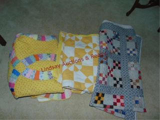 Approx 3 quilts   Full   smaller