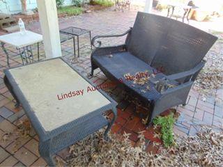2 pc patio set