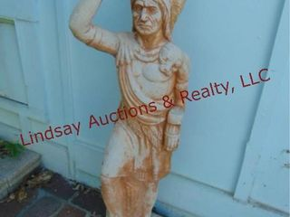 Indian Statue approx 40  tall  plaster