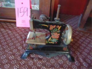 Salesman sample antique sewing machine