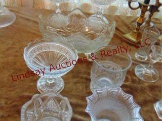 7 pcs of clear glass SEE PICS