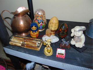 Approx 11 pcs of decor  Russian doll
