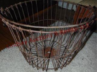 Metal potato basket