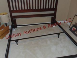 Full queen size bed frame