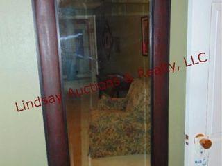 Framed mirror 26x48