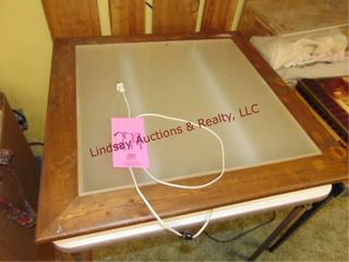 light box  table NOT included  30x30