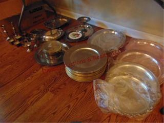 Approx 22 pcs serving platters