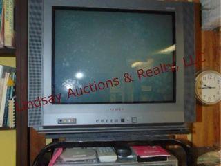 Samsung tv  stand    Toshiba dvd vhs player