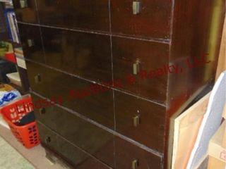 5 drawer dresser  no contents  40x20x49