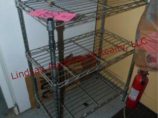 2 tier metal shelf 23x13x30