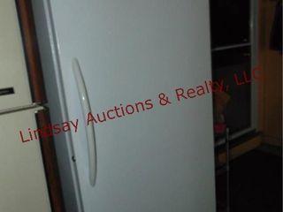 Frigidaire commercial upright freezer WORKS