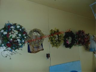 Group of 7 wreathes