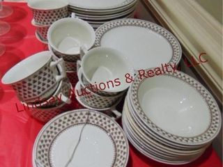 Approx 53 pcs of Adams dishes