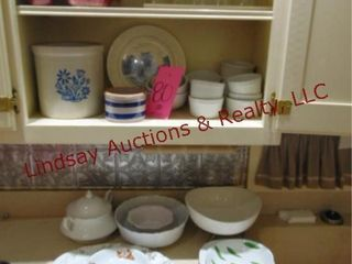 Approx 30  pcs of misc dishes  wine glasses