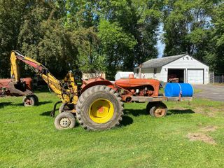 1954 Allis Chalmers Model WD45 Tractor with B...