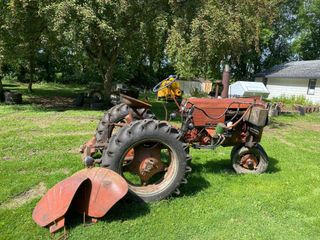 Case Tractor With New Tires - Owner said it r...