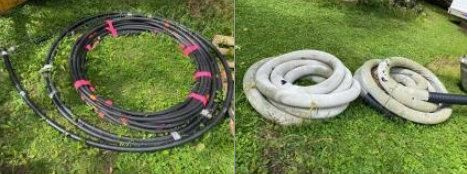 Drain Tile Hose and other hard plastic hose....