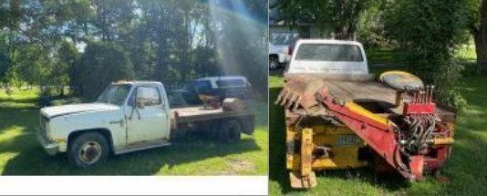 Original Owner 6.2 Diesel Truck With Backhoe ...