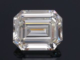 3.76 Carat High-Grade Emerald Cut Diamond, GIA Report; $89,600 Appraisal